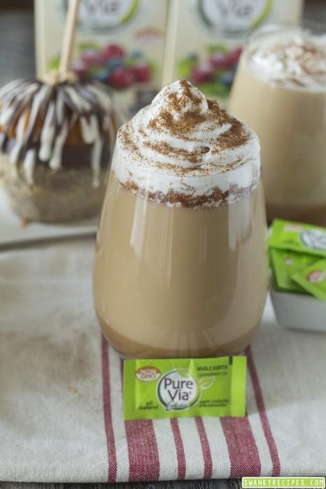 Pumpkin Latte with Pure Via