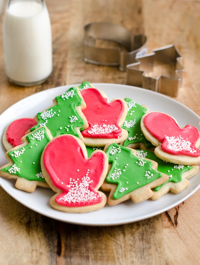 Holiday Sugar Cookies with Royal Icing