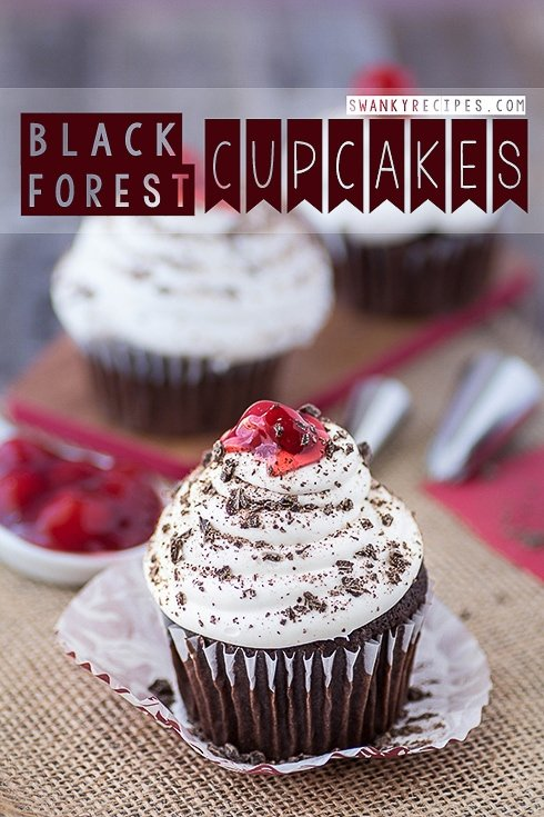 Black Forest Cupcakes Swanky Recipes