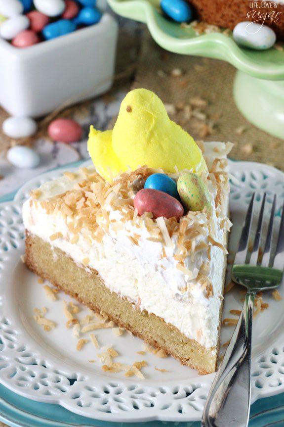 Coconut Blondie Cheesecake