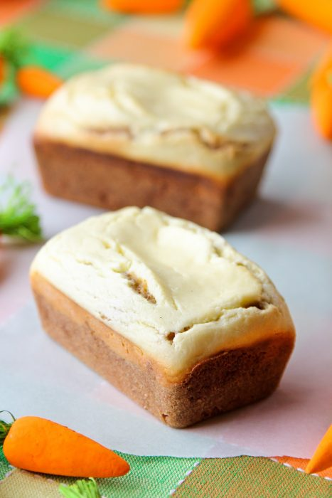 Mini Carrot Cake Loafs