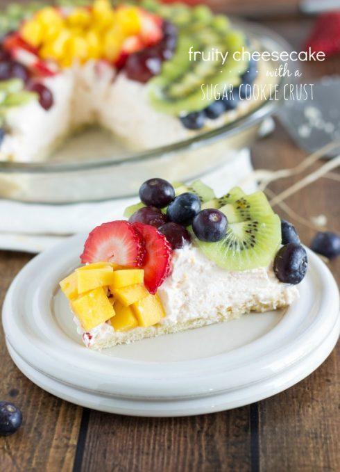 Cheesecake Fruit Pizza
