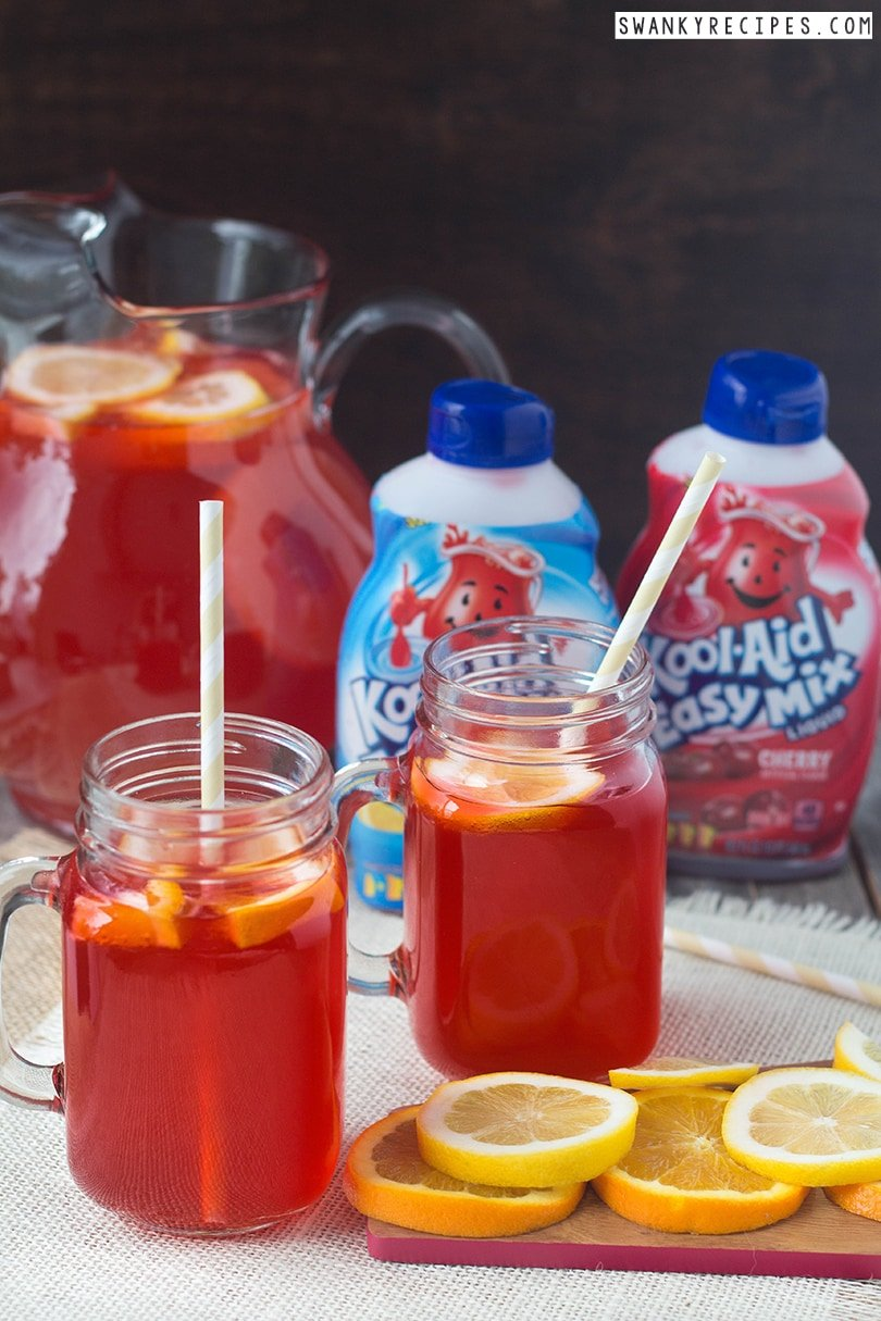 Tropical Cherry Punch