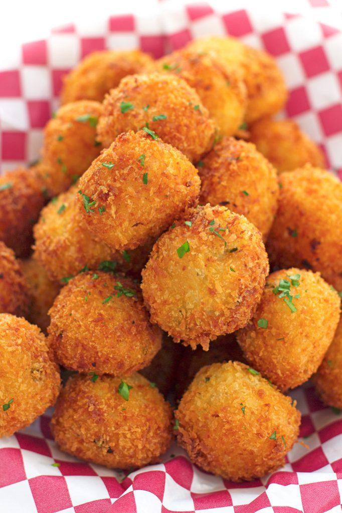 Mashed Potato Poppers