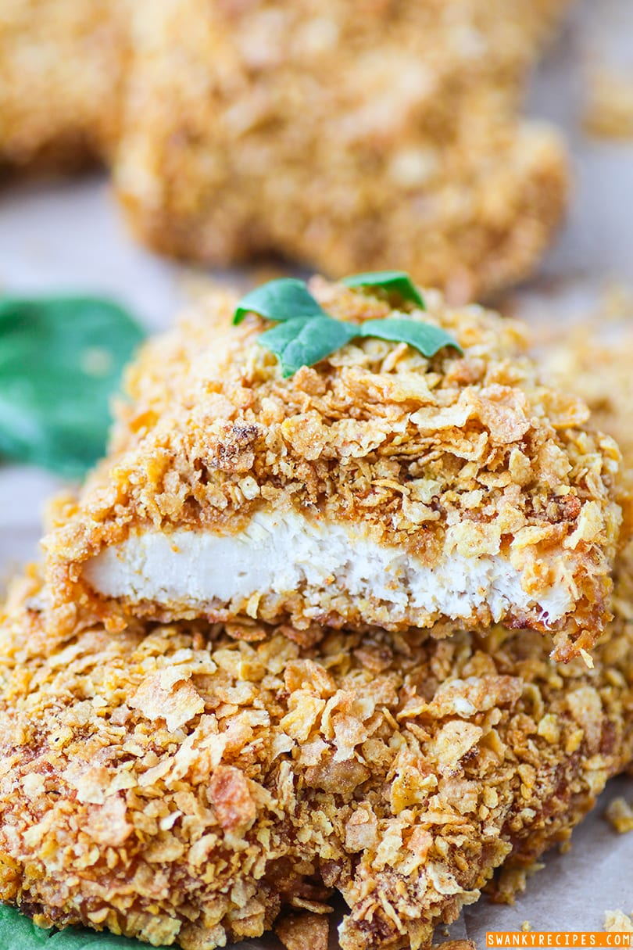 Sour Cream Corn Flake Chicken