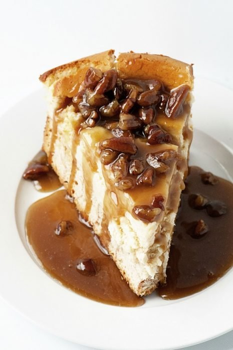 Caramel Monkey Bread Cheesecake