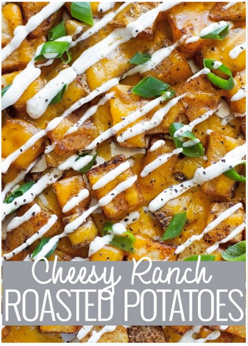 Cheesy Ranch Roasted Potatoes