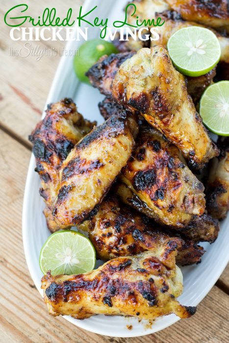 Grilled Lime Chicken Wings