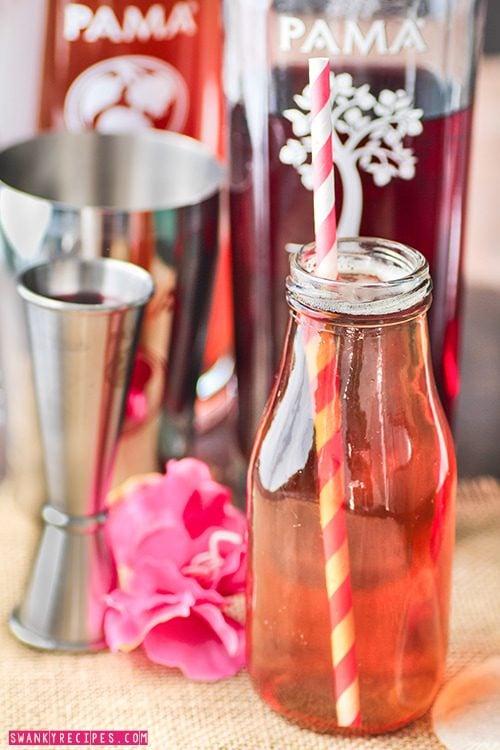 PAMA Liqueur Cocktail