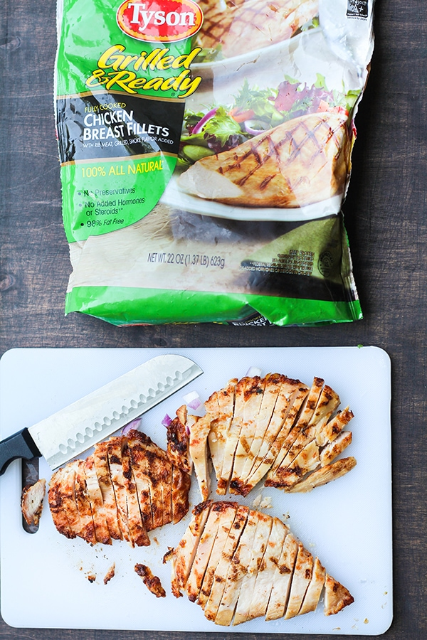 Tyson Grilled & Ready Chicken Breast Fillets recipe