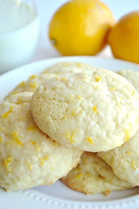 Bakery Style Lemon Cookies