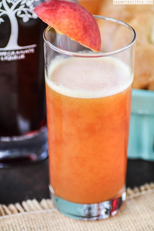 Peach Pomegranate Bellini