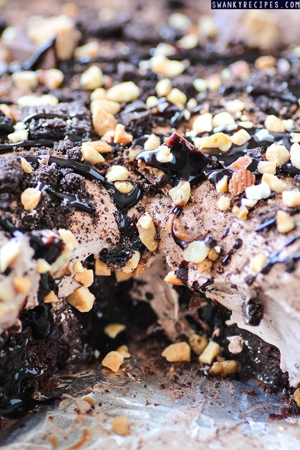 Triple Chocolate Poke Cake