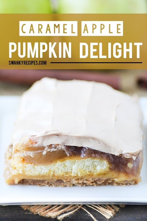 Caramel Apple Pumpkin Delight