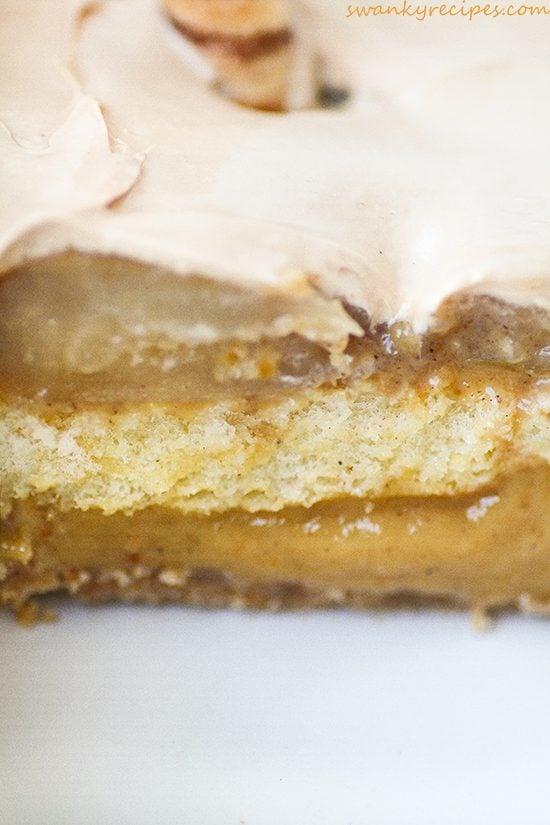 No Bake Caramel Apple Pumpkin Delight