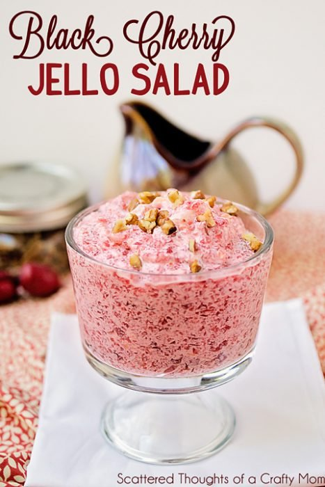 Black Cherry Jello Salad
