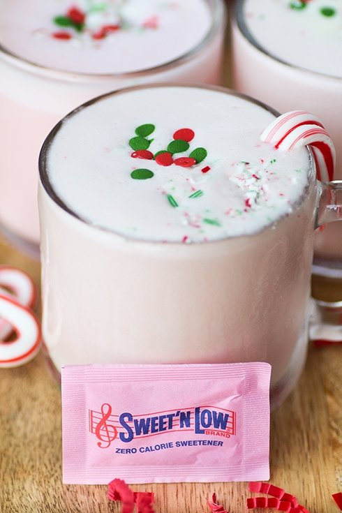 Eggless Peppermint Nog