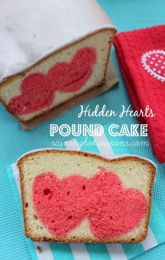 Hidden Heart Pound Cake