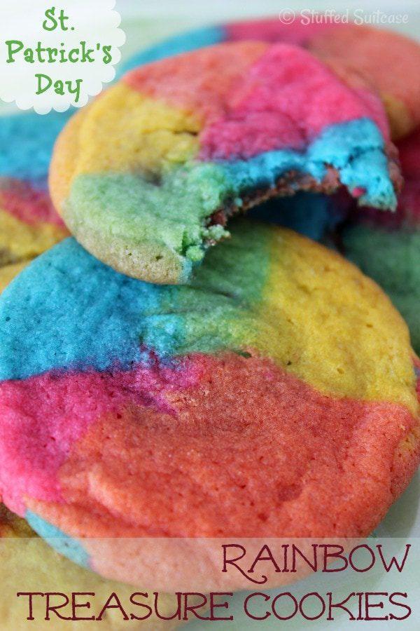 Rainbow Treasure Cookies