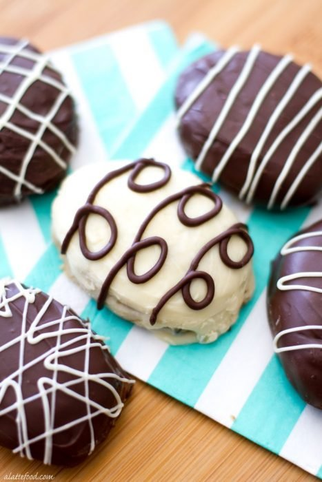 Cookie Dough Easter Truffles