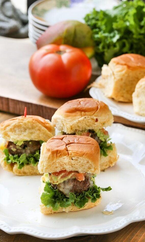 Cheese Stuffed Burgers