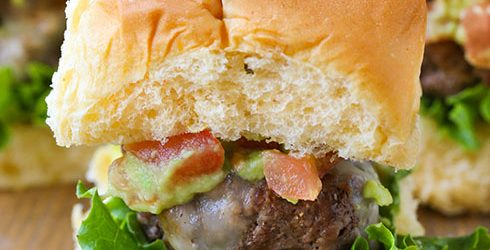 Mozzarella Stuffed Burgers-2