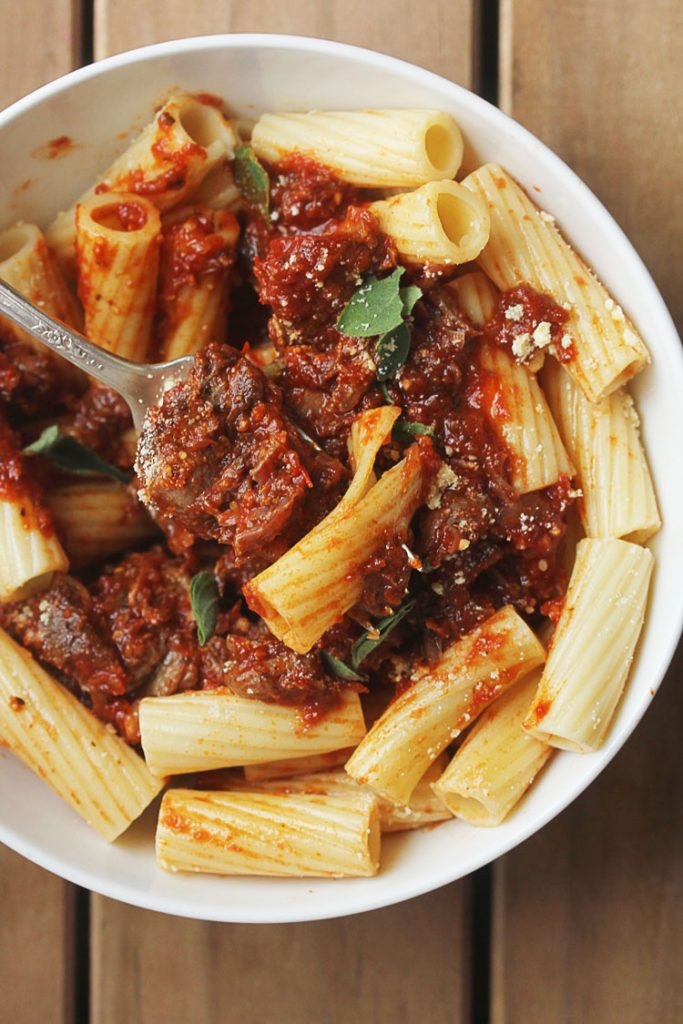 Pot Roast Pasta - Taking pot roast to the next level with this Pot Roast Pasta. We only wish we had this recipe years ago. If you have a delicious pot roast you love, you'll love it in this easy recipe!