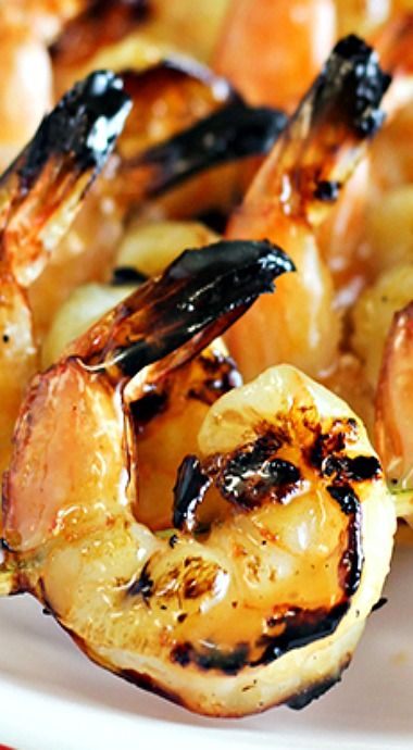 Grilled Coconut Rum Shrimp - Mouthwatering Grilled Coconut Rum Shrimp is a family favorite to serve for summer parties. This dish is easy to prepare and is a great way to start the summer.