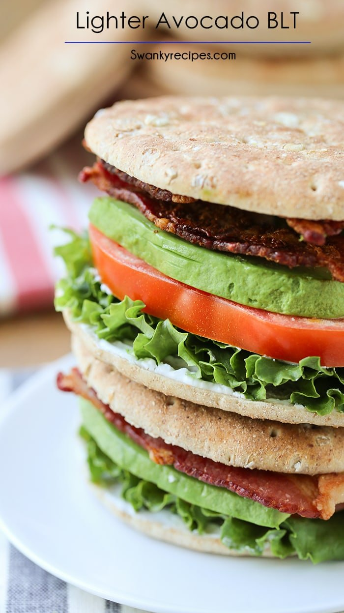 Lighter Avocado BLT