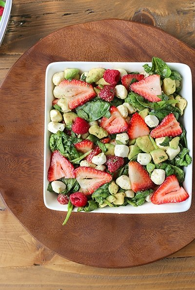 Berry Avocado Salad