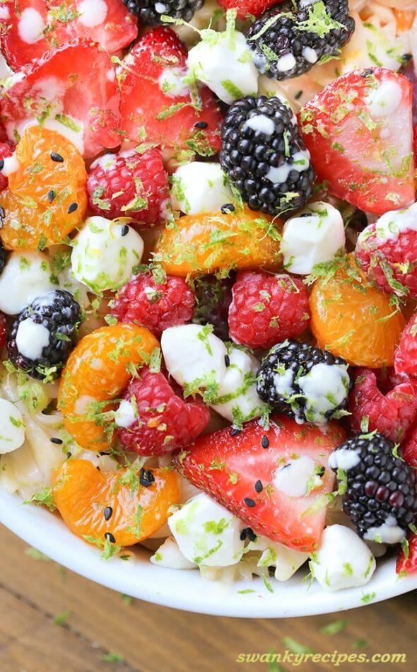 Berry Pasta Salad