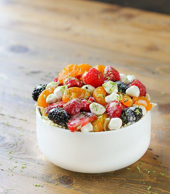 Fruit Pasta Salad