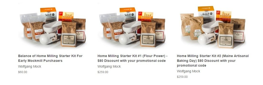 MockMill PACKAGES