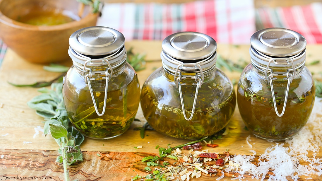 These inexpensive glass jars are perfect for homemade seasonings and oils. Get 5 bread dipping recipes to make at home.