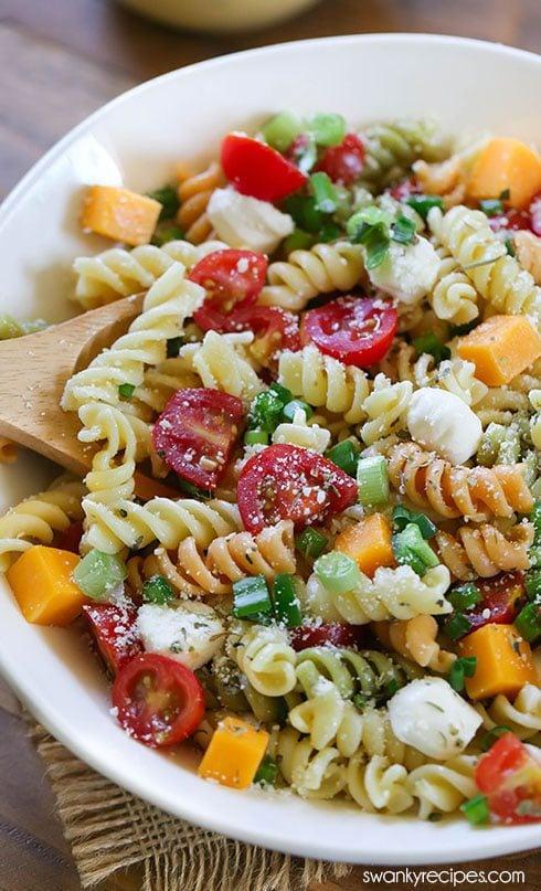 Easy Italian Pasta Salad Swanky Recipes