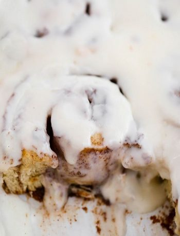The BEST soft and fluffy Cinnamon Rolls with an easy Maple frosting. A small-batch cinnamon roll recipe with cream cheese glaze and filling.