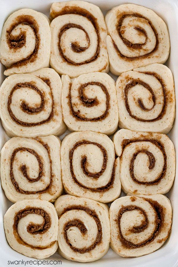 Yeast Cinnamon Rolls made with active dry yeast or instant yeast. A sweet roll recipe with maple buttercream glaze.