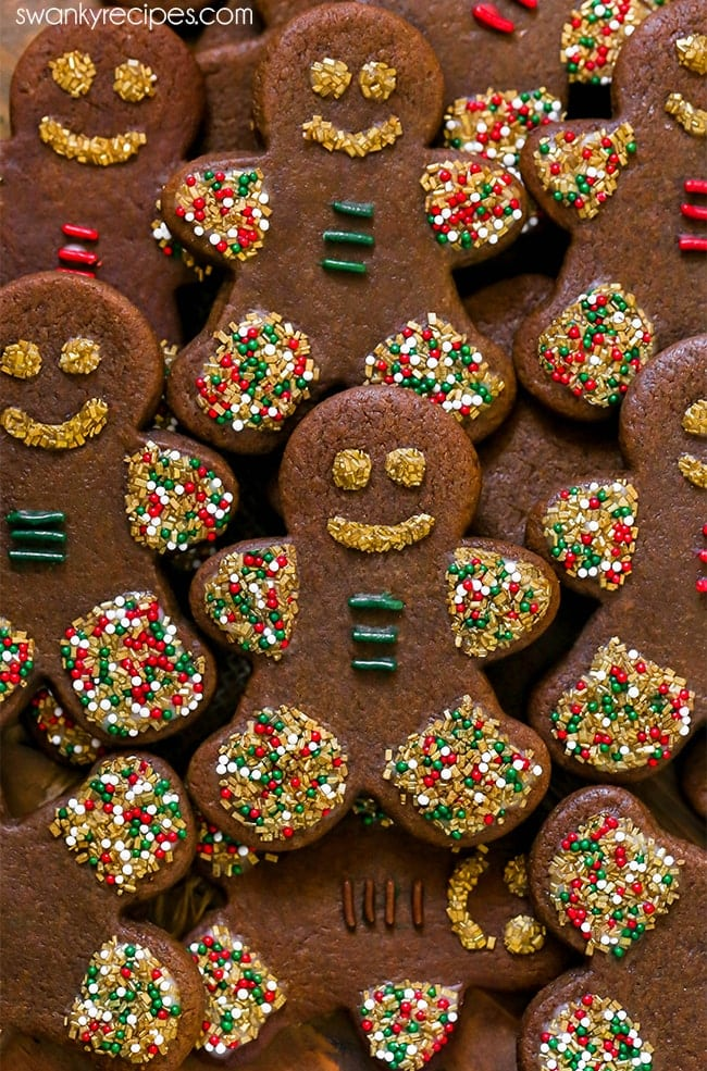 Gingerbread Cookies Swanky Recipes