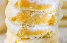 Lemon Cookies with cream cheese. Classic lemon butter cookies that bake up soft and chewy.