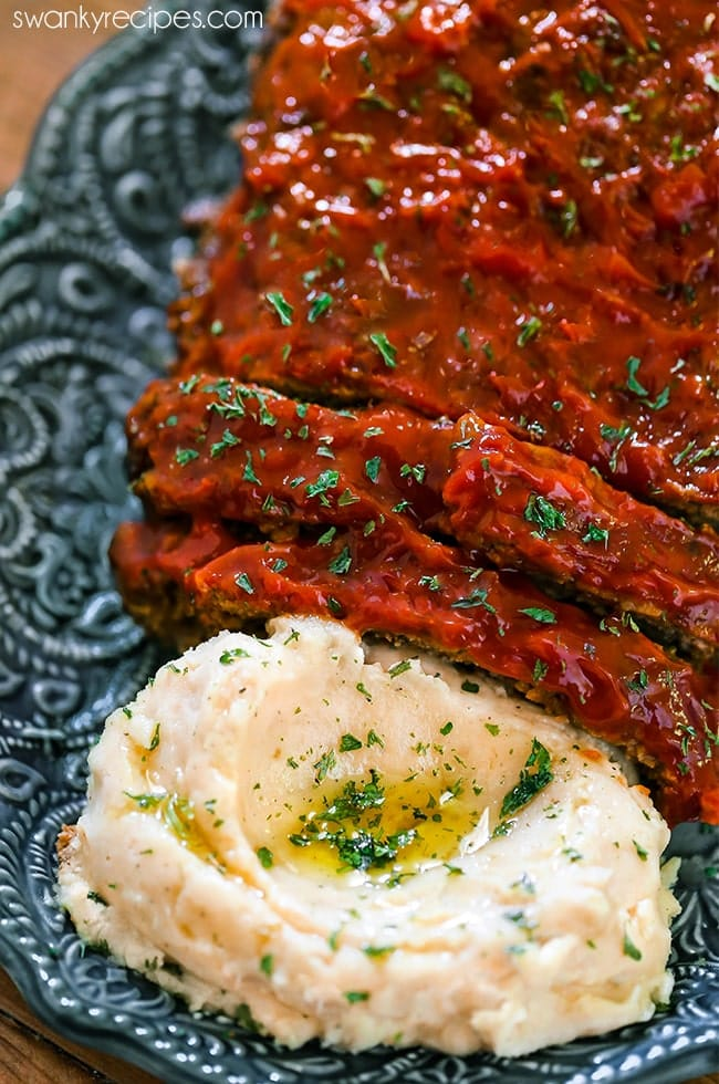 Instant Pot Meatloaf and Mashed Potatoes - A family favorite; delicious! Easy directions to making the BEST meatloaf in the instant pot pressure cooker with potatoes.