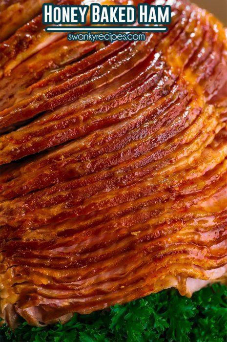 Best Honey Baked Ham Recipe - Easy to prepare roast ham with a classic honey sugar glaze.