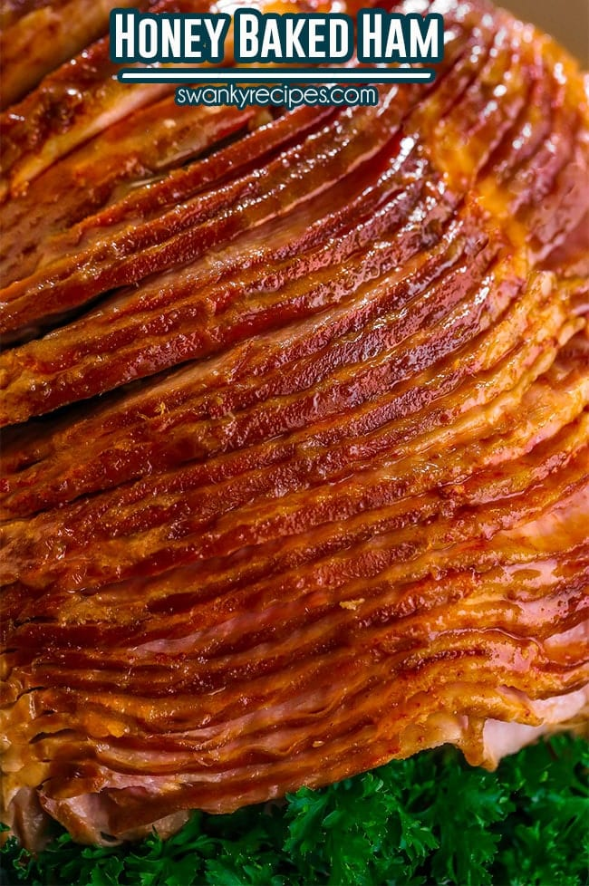 Best Honey Baked Ham Recipe - Easy to prepare roast ham with a classic honey sugar glaze.