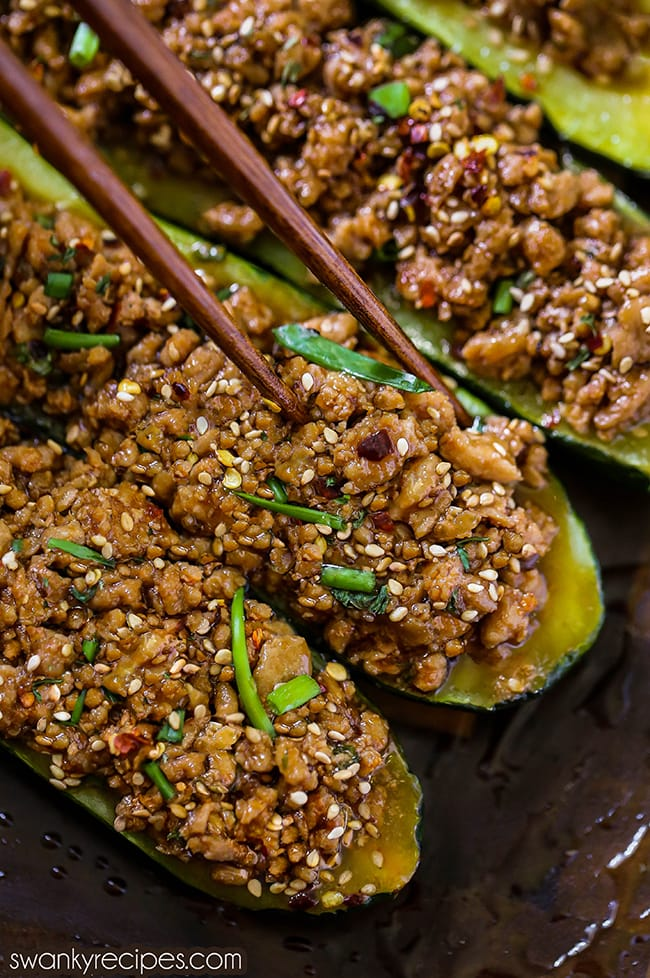 Download Meatloaf Stuffed Zucchini Recipe Pictures